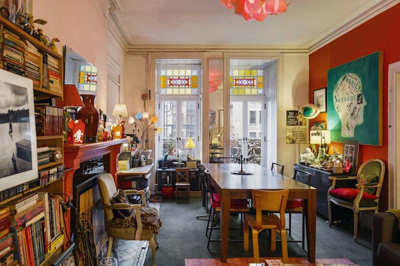 Former club girl and model Man-Laï's residence is filled with decor elements that combine her Belgian and Chinese heritages, acquired over the nearly 40 years she's lived in the Chelsea.