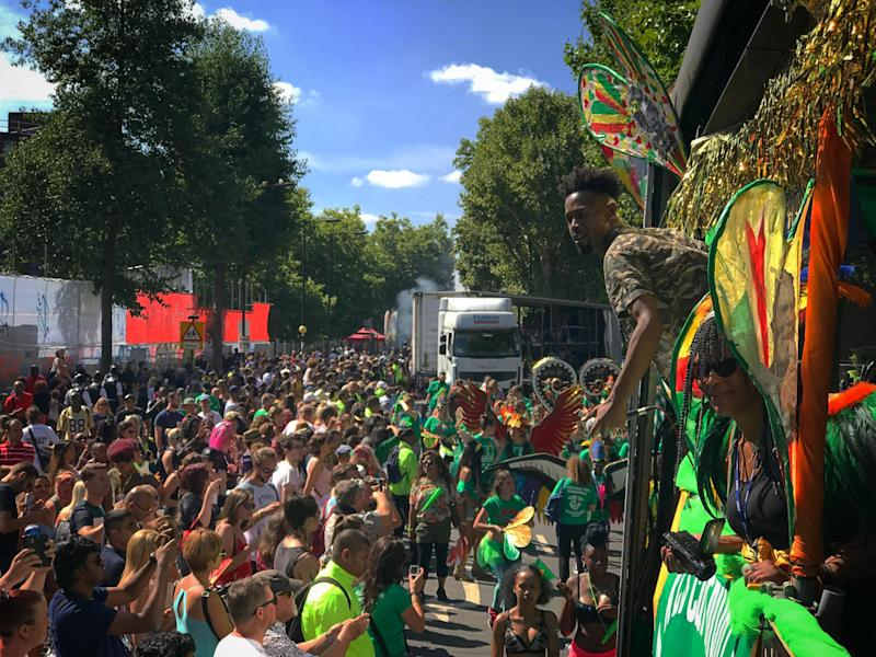 Londoners could see record-breaking heat: Sun shining at Notting Hill Carnival 2017 (file photo) (Getty Images)