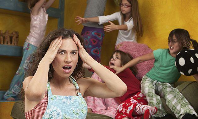 Pretend your crazy family is in a movie. Photo: Thinkstock