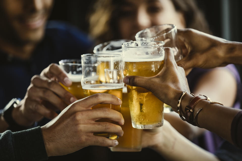 U.S. beer consumption has steadily declined over the past decade, CFRA noted
