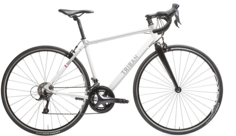 Triban regular women's road bike, S$750. PHOTO: Decathlon