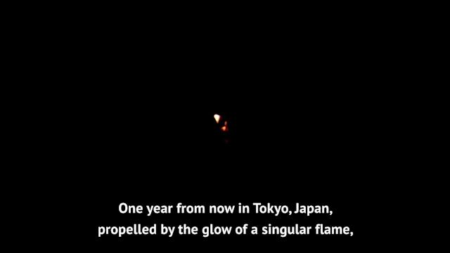 The spirit of the Olympics Games hasn't been forgotten one year out from the new start date of Tokyo 2020