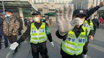 Heavy security as Chinese citizen journalist jailed for Wuhan virus reporting