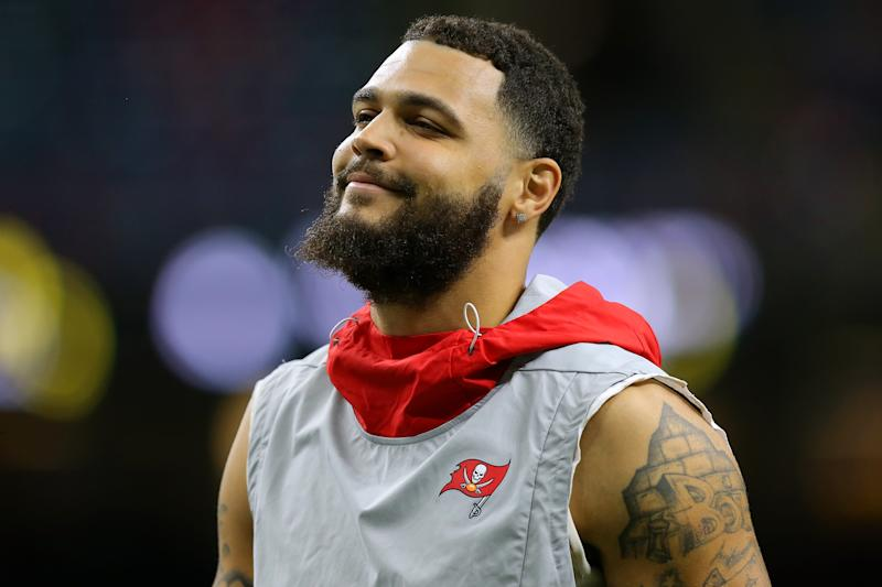 NEW ORLEANS, LOUISIANA - OCTOBER 06: Mike Evans #13 of the Tampa Bay Buccaneers warms up before a game against the New Orleans Saints at the Mercedes Benz Superdome on October 06, 2019 in New Orleans, Louisiana. (Photo by Jonathan Bachman/Getty Images)
