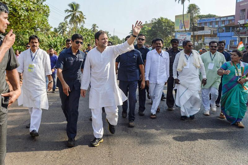 Crisscrossing Karnataka for Poll Campaign, Rahul Gandhi Creates a New Record