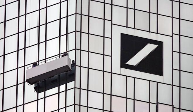 Deutsche Bank had the largest amount of transactions flagged in suspicious activity reports reviewed by ICIJ, with transactions totalling more than US$1.3 trillion. Photo: EPA-EFE