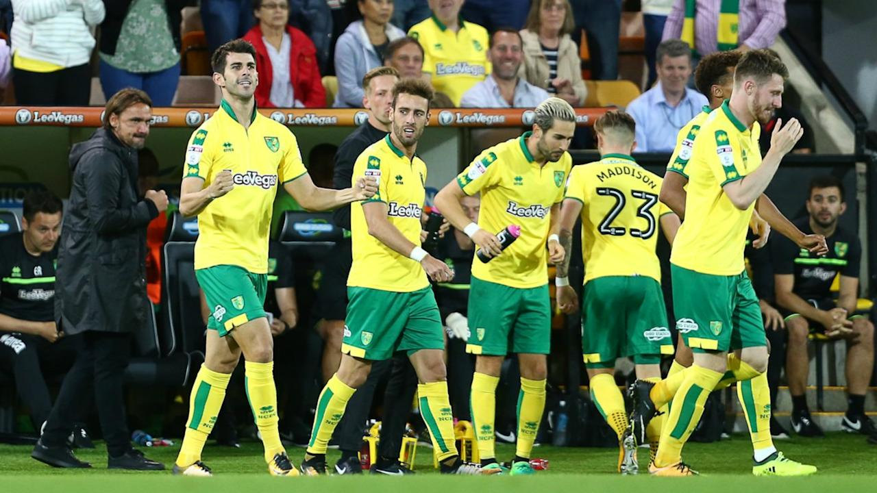 Norwich City ended QPR's unbeaten start to the Championship season, while Sheffield Wednesday's wait for a first victory goes on.