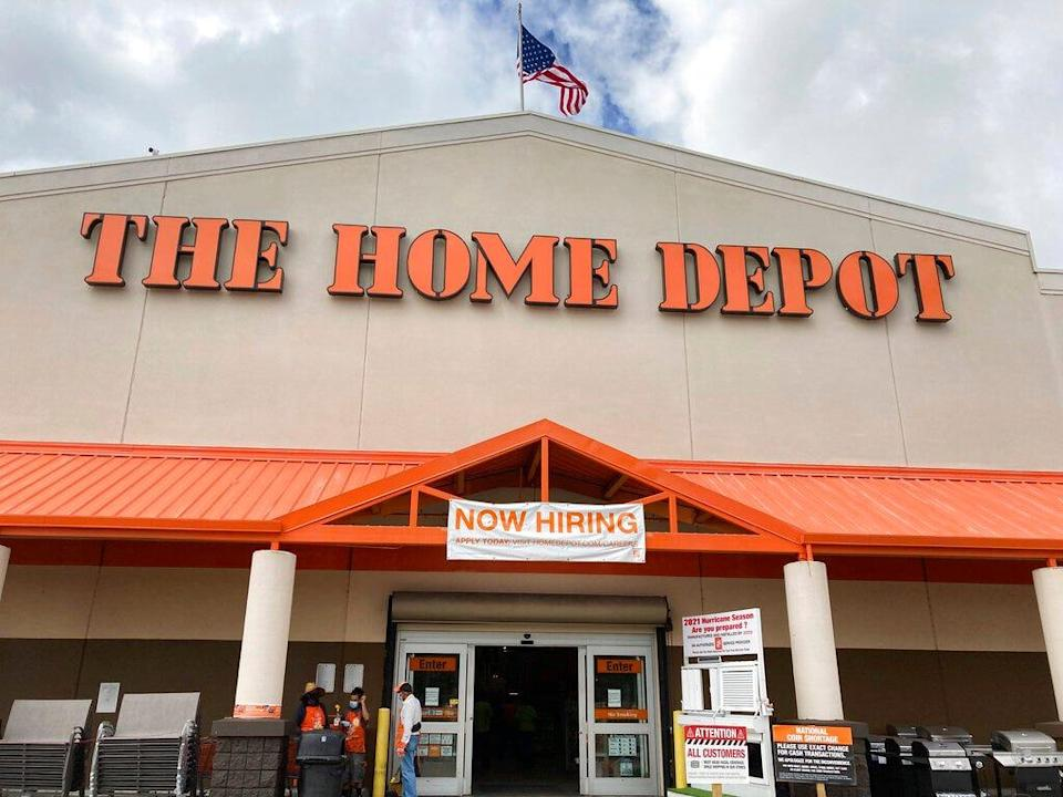 Home Depot is partnering with Walmart.