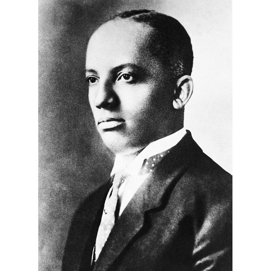 Carter G. Woodson is the father of Negro History Week, started in 1926, which transitioned into Black History Month in 1976. (Photo: Getty Images)