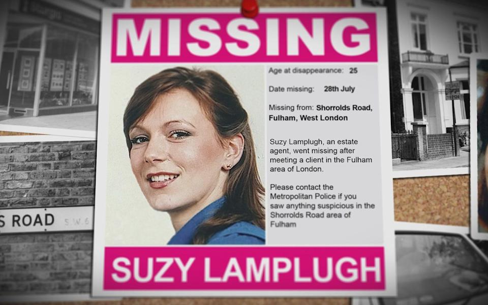 The disappearance of Suzy Lamplugh in 1986 remains unsolved - Shearwater Media