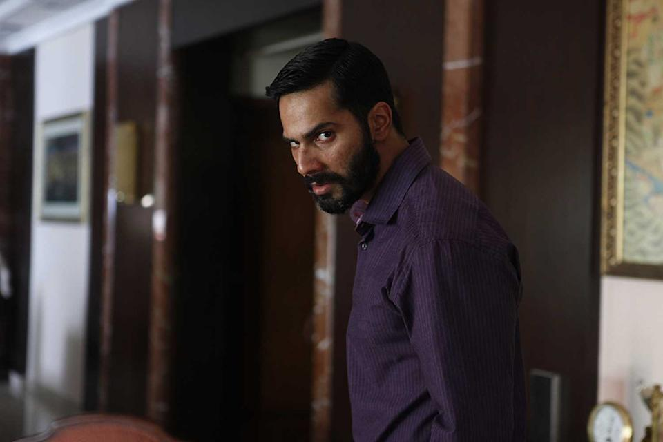 <p>Varun Dhawan rises above the chocolate hero roles and delivers one of his most serious performances as the grief-stricken Raghav trying to make sense of the loss of his wife and child. Such is his desire for revenge, he becomes the monster he had set out to kill.</p>