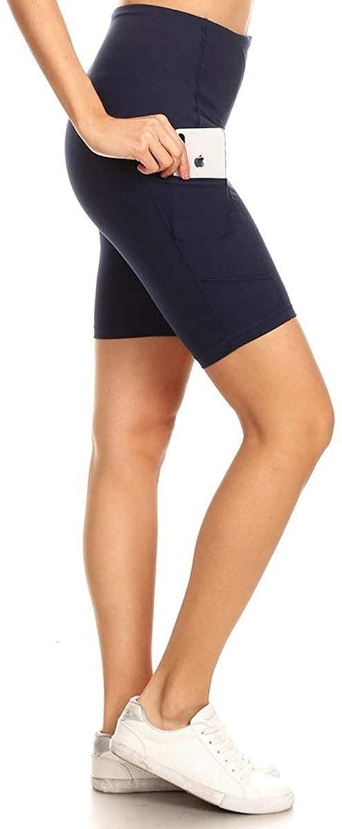 """<p>You can never have too many biker shorts, and these <span>Leggings Depot Women's 10""""/8""""/5""""/2"""" High Waist Workout Pocket Yoga Biker Shorts</span> ($8, originally $15) are a steal!</p>"""