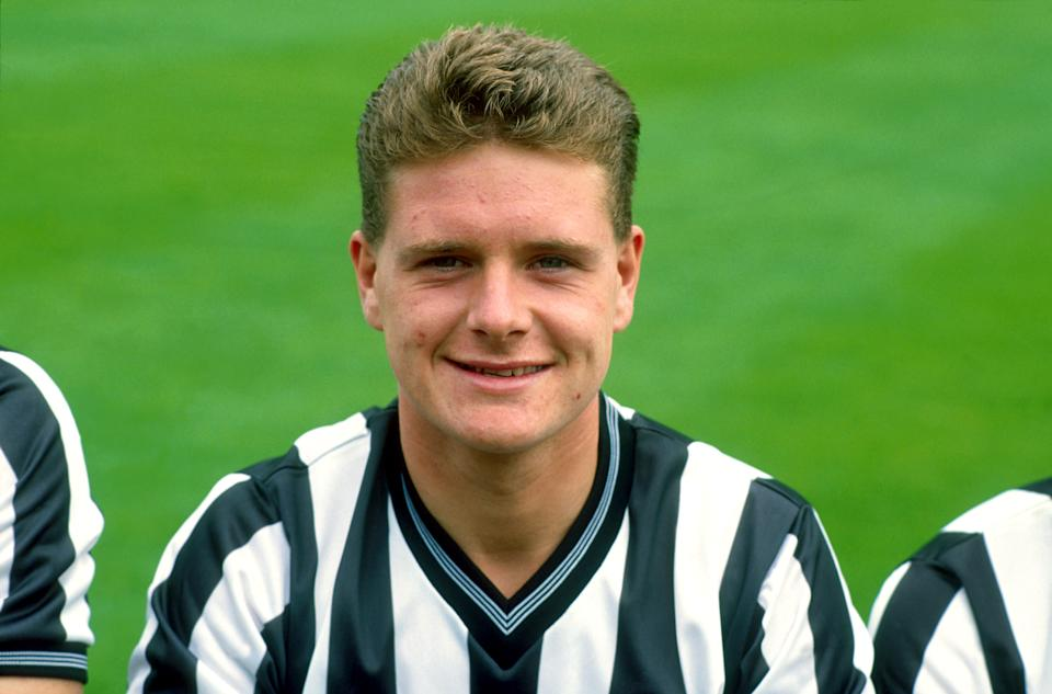 Paul Gascoigne, Newcastle United  (Photo by S&G/PA Images via Getty Images)