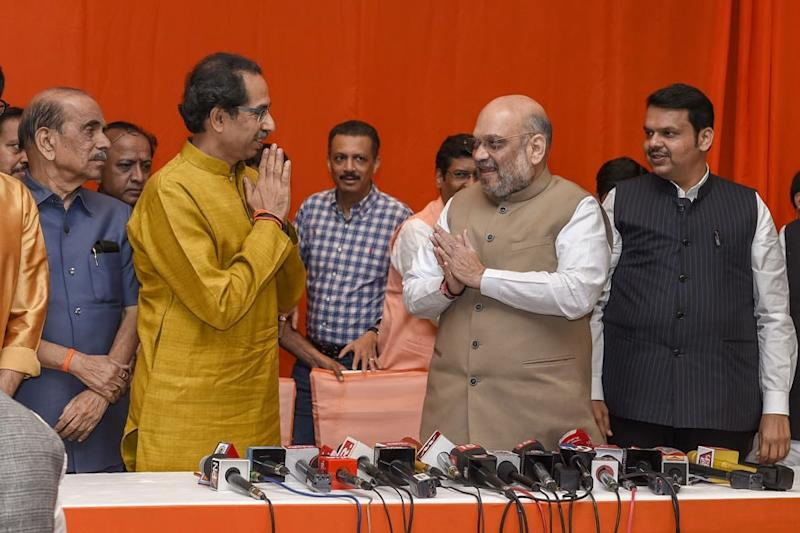 Shiv Sena Ends 'Bad Marriage' With BJP as Power Sharing Splits Allies of 30 Years