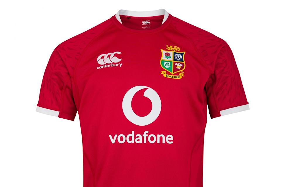 Canterbury's new British and Irish Lions shirt for 2021 tour of South Africa (Canterbury)