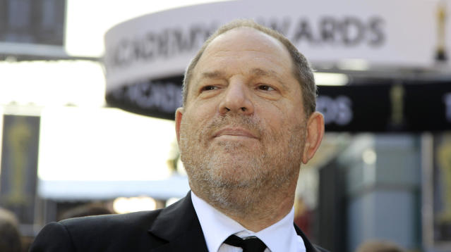 Harvey Weinstein once trapped a woman in the hallway of a restaurant that was closed to the public and masturbated in front of her until he ejaculated, she says.