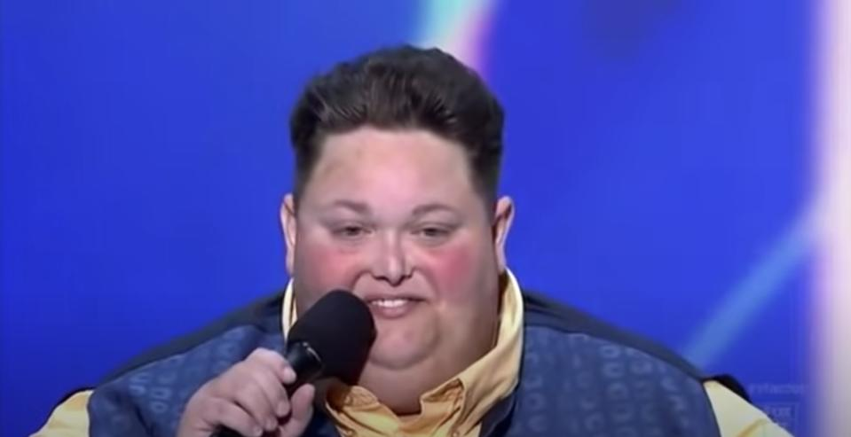 Freddie Combs, who appeared on the second season of X Factor in the U.S., has died. (Photo: Fox via YouTube)