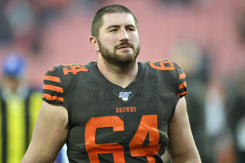 Cleveland Browns center and NFLPA president J.C. Tretter wanted to address some misconceptions about players. (AP Photo/David Richard, File)