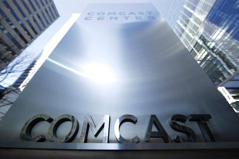 US cable giant Comcast bid £17.28 per share (AP)