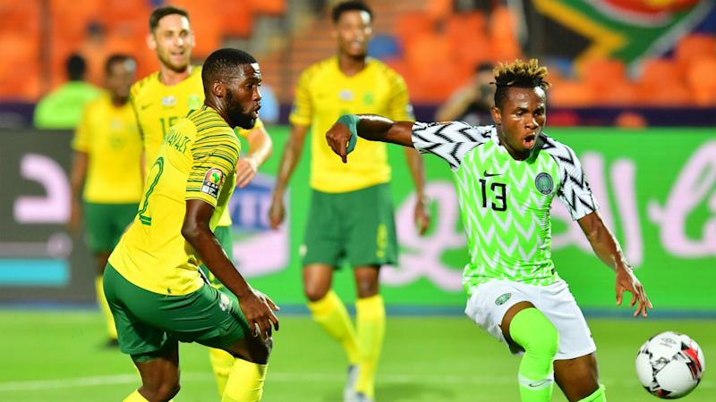 Nigeria 2-1 South Africa: Chukwueze and Troost-Ekong fire Super Eagles into Afcon 2019 semi-finals