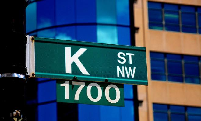 D.C.'s K Street is known as the nation's center for think tanks, lobbyists, and advocacy groups.