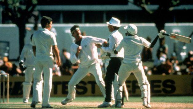 Javed Miandad would have hit Lillee with his bat had umpires not intervened