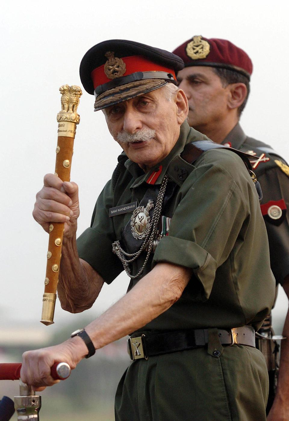 Field Marshal Sam Manekshaw was one of the most gallant army officers in India. A recipient of Padma Vibhushan, Padma Bhushan and Military Cross, Sam Manekshaw served as the 8th Chief of the Army Staff. Manekshaw fought for the British Indian Army in World War II and was awarded the Military Cross for his gallantry. Manekshaw led the Indian forces against Pakistan in the Indo-Pakistan War of 1971. He is the nation's only soldier to have ever held the Field Marshall's rank.