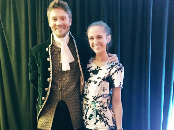 Actor Chad Michael Murray dressed up as his famous 'Cinderella Story' character for Children's Hospital of Orange County's prom. (Photo: Instagram/angelarobinscott)