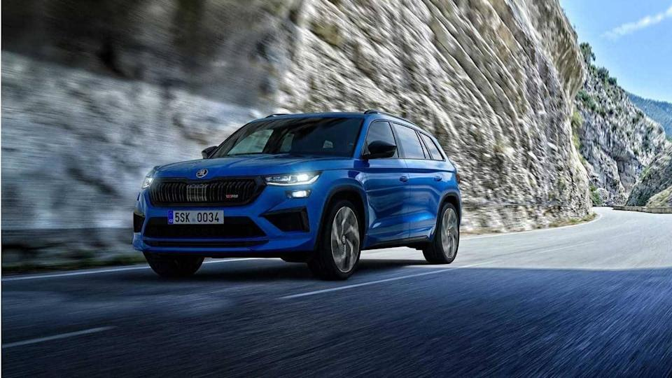2021 SKODA KODIAQ SUV, with four engine options, goes official