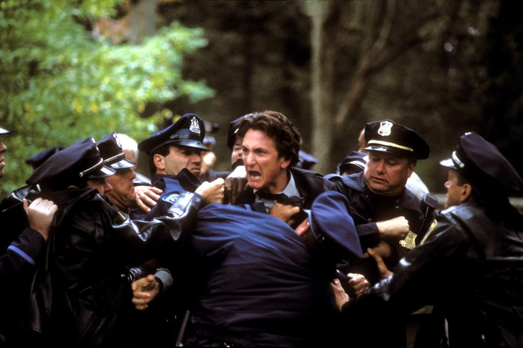 """<a href=""""http://movies.yahoo.com/movie/1808435941/info"""">Mystic River</a> (2003), about childhood friends reunited by tragedy in an insular part of Boston: I liked the book and the screenplay by Brian Helgeland. The way sometimes fate deals a bad hand, and it just keeps getting worse and worse, and there is nothing anyone can do. No amount of sane advice can stop the train."""