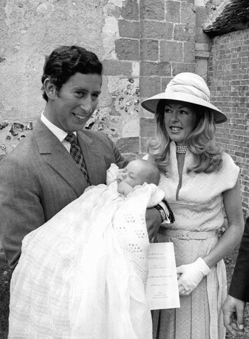 In 1976 Charles attended the christening of Kanga's son, Charles Tryon, in 1976 and was named his godfather. Source: Getty