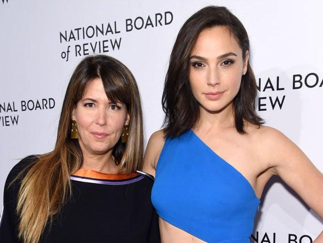 Patty Jenkins and her Wonder Woman star Gal Gadot at a 2018 event: Jamie McCarthy/Getty Images for National Board of Review