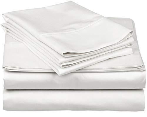 True Luxury 1000-Thread-Count 100% Egyptian Cotton Bed Sheets, 4-Pc Queen