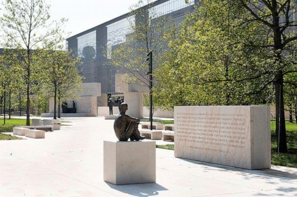 PHOTO: The Dwight D. Eisenhower Memorial in Washington is pictured on Aug. 9, 2020. (Michael Brochstein/Sipa USA via AP)