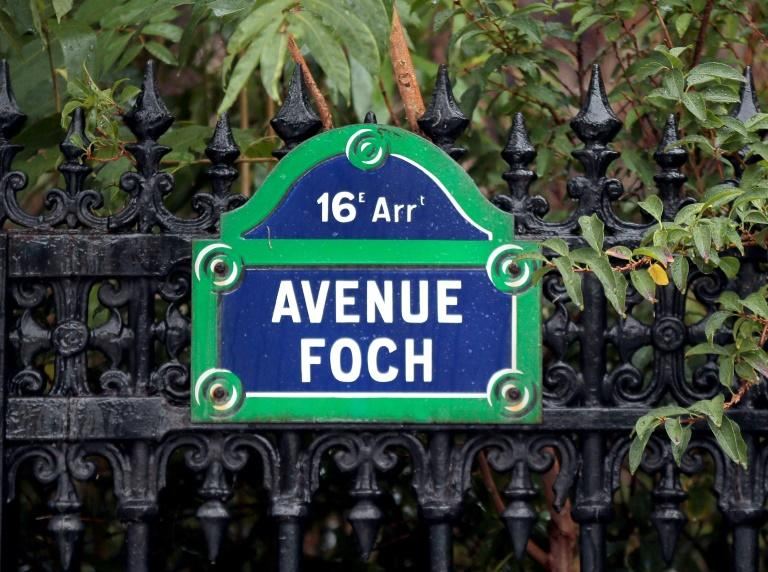 The luxury apartment is on Avenue Foch, a favourite destination of foreign millionaires in Paris