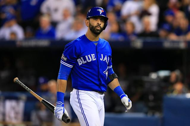 Jose Bautista hopes to have put his injury problems of 2016 behind him. (Getty)