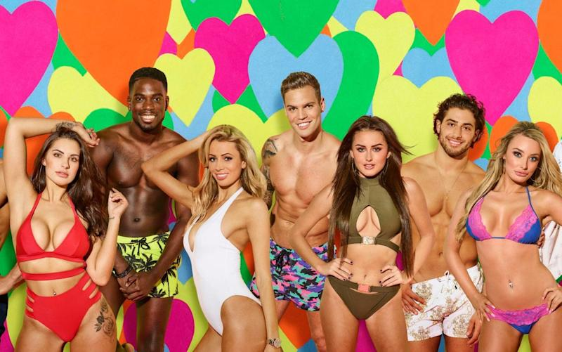 The Love Island contestants  - Credit:  ITV Picture Desk
