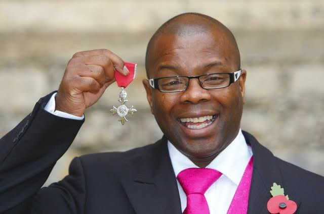 McKenzie became an MBE in 2011 (Chris Ison/PA).