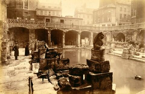 The Roman Baths - Credit: Historica Graphica Collection/Heritage Images