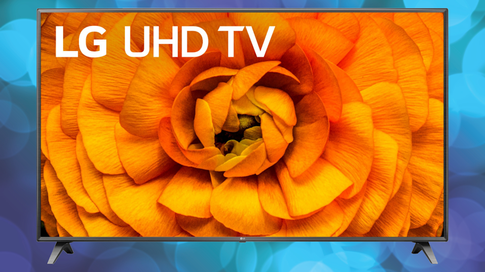 Brighten your view with this LG 4K TV—down from $1,130 to just $900 today. (Photo: Best Buy)