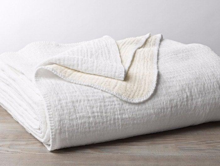 "<h2>Coyuchi Cozy Cotton Organic Blanket</h2><br>Plush to the touch, organic cotton combines with chenille to make a lightweight yet snuggly household staple. <br><br><strong>Comfort Critics Say:</strong> ""I had no idea I could love a blanket this much! The waffle-like texture is what attracted me to purchase but the light-weight warm, cozy and super soft fabric is just unreal."" - <em>Rachel H</em> <br><br><em><strong><a href=""https://www.coyuchi.com/bed/blankets.html"" rel=""nofollow noopener"" target=""_blank"" data-ylk=""slk:Shop Coyuchi"" class=""link rapid-noclick-resp"">Shop Coyuchi</a> </strong></em><br><br><strong>Coyuchi</strong> Cozy Cotton Organic Blanket, $, available at <a href=""https://go.skimresources.com/?id=30283X879131&url=https%3A%2F%2Fwww.coyuchi.com%2Forganic-cozy-cotton-blanket.html"" rel=""nofollow noopener"" target=""_blank"" data-ylk=""slk:Coyuchi"" class=""link rapid-noclick-resp"">Coyuchi</a>"
