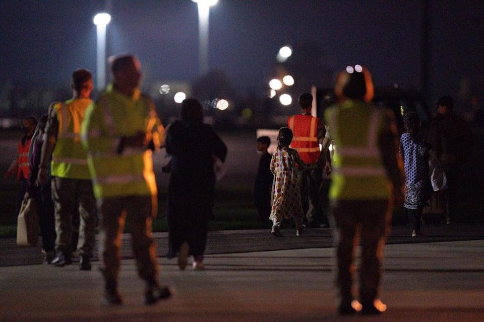 The Government has launched a plan dubbed Operation Warm Welcome to help Afghan evacuees start a new life in the UK (Jacob King/PA) (PA Wire)