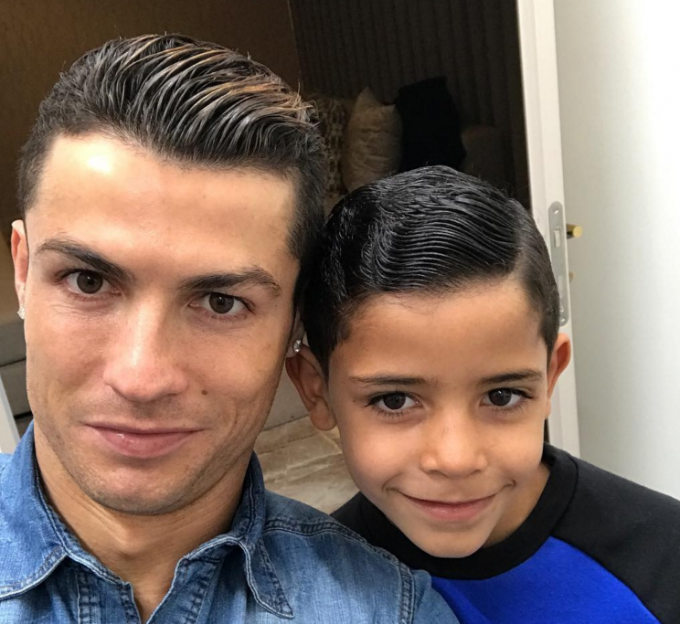 The star is already dad to Cristiano Jr.