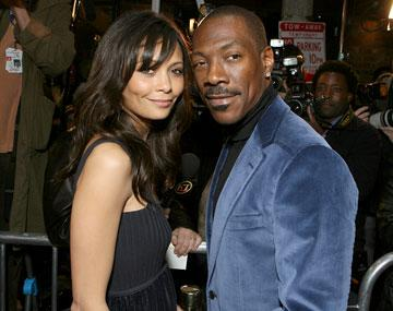 """Premiere: <a href=""""/movie/contributor/1800018708"""">Thandie Newton</a> and <a href=""""/movie/contributor/1800011536"""">Eddie Murphy</a> at the Los Angeles premiere of DreamWorks Pictures' <a href=""""/movie/1809426318/info"""">Norbit</a> - 2/8/2007<br>Photo: <a href=""""http://www.wireimage.com"""">Eric Charbonneau, WireImage.com</a>"""