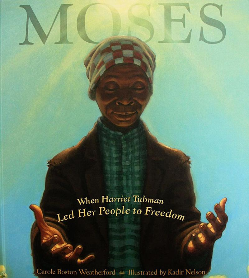A reverentretelling of Harriet Tubman's brave work on the Underground Railroad, written by Carole Boston Weatherford with luminous illustrations by Kadir Nelson.