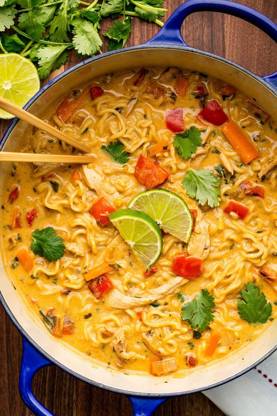 """<p>Step away from the white cup.</p><p>Get the recipe from <a href=""""https://www.delish.com/cooking/recipe-ideas/recipes/a49382/asian-chicken-noodle-recipe/"""" rel=""""nofollow noopener"""" target=""""_blank"""" data-ylk=""""slk:Delish"""" class=""""link rapid-noclick-resp"""">Delish</a>.</p>"""