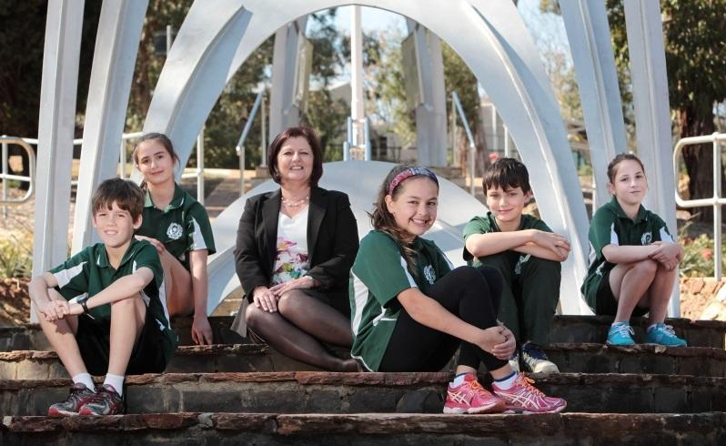 School celebrates link with Diggers' camp