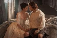 """<p><a href=""""http://nerdist.com/behind-the-costumes-outlander/"""" rel=""""nofollow noopener"""" target=""""_blank"""" data-ylk=""""slk:Even the extras"""" class=""""link rapid-noclick-resp"""">Even the extras</a> have to wear them. It needs to be period-accurate!</p>"""