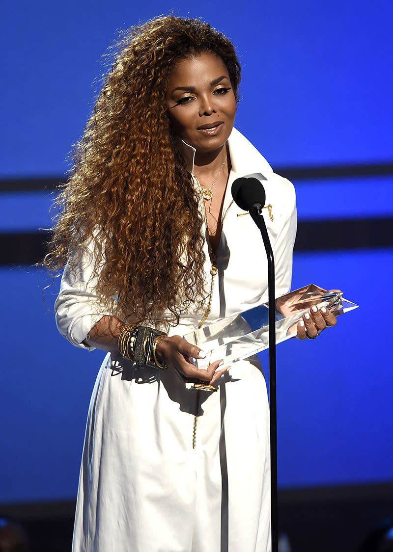 <p>Jackson, 50, is the third-highest-ranking African-African artist on this list. Her top sellers are 1989's Janet Jackson's Rhythm Nation 1814 and its 1993 follow-up, janet. (6 million each). (Photo: Chris Pizzello/Invision/AP) </p>