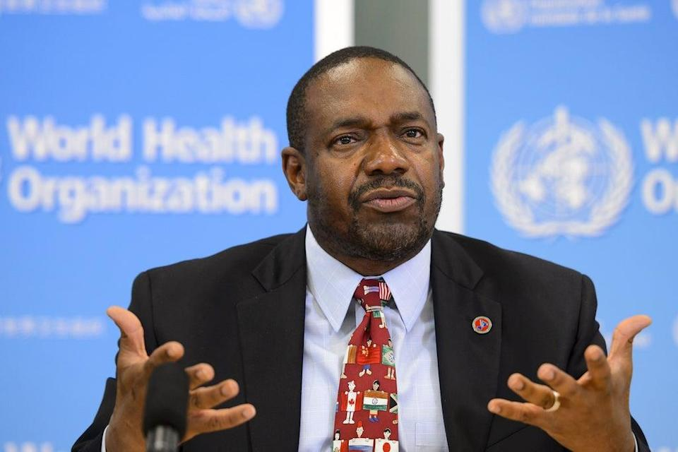 Samba Sow, Director-General of the Center for Vaccine Development in Mali,  on September 5, 2014 in Geneva. (AFP via Getty Images)